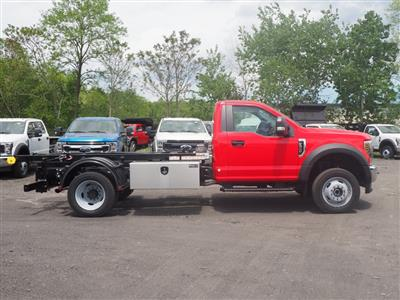 2019 Ford F-550 Regular Cab DRW 4x4, Hooklift Body #10579T - photo 3