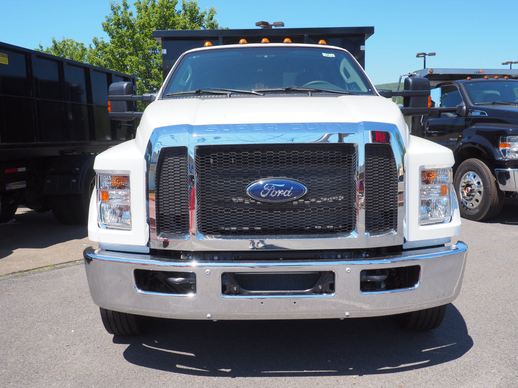 2021 Ford F-650 Regular Cab DRW 4x2, Switch N Go Landscape Dump #10613T - photo 3