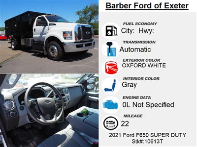 2021 Ford F-650 Regular Cab DRW 4x2, Switch N Go 13' System with Drop Box and Flat Bed Available! #10613T - photo 15