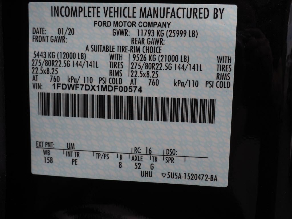 2021 Ford F-750 Regular Cab DRW 4x2, Galion Dump Body #10614T - photo 14