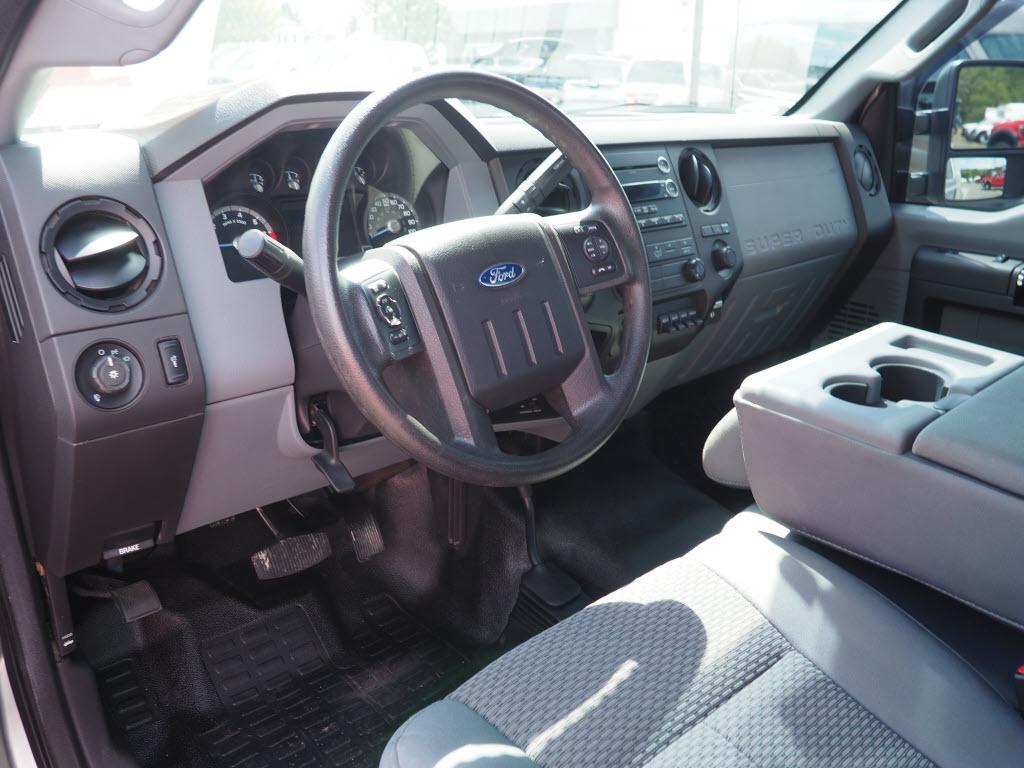 2016 Ford F-350 Regular Cab DRW 4x4, Platform Body #10645A - photo 10
