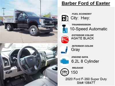 2020 Ford F-350 Regular Cab DRW 4x4, Magnum Dump Body #10647T - photo 15