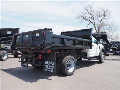 2020 Ford F-550 Regular Cab DRW 4x4, Rugby Eliminator LP Steel Dump Body #10648T - photo 2