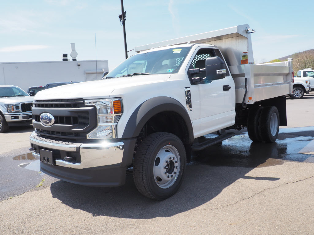 2020 Ford F-550 Regular Cab DRW 4x4, Magnum Dump Body #10650T - photo 7