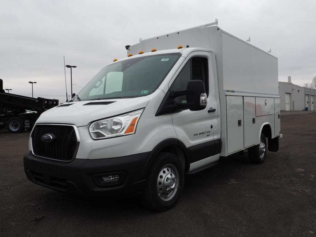 2020 Ford Transit 350 AWD, Reading Aluminum CSV Service Utility Van #10659T - photo 4
