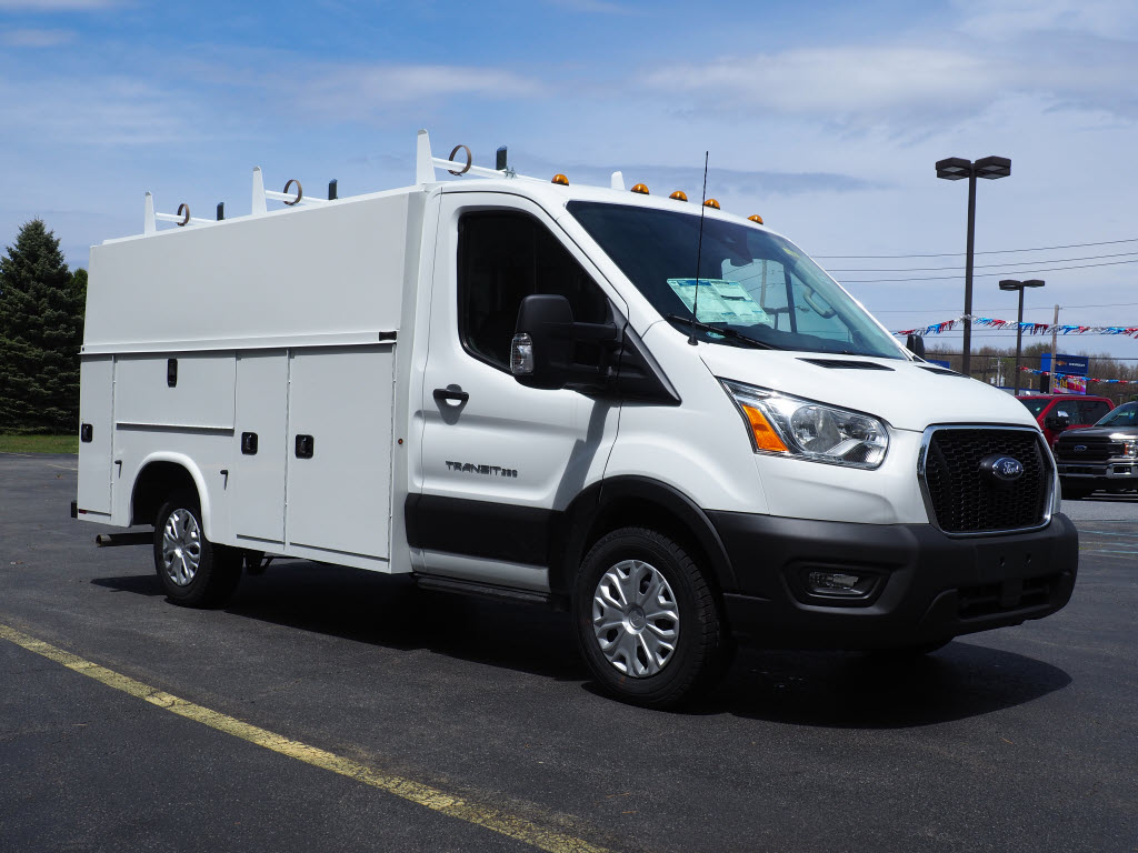 2020 Ford Transit 350 AWD, Reading Aluminum CSV Service Utility Van #10660T - photo 3