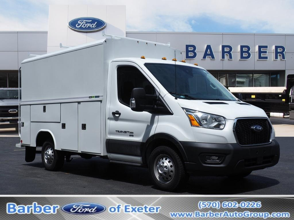 2020 Ford Transit 350 4x2, Knapheide Service Utility Van #10672T - photo 1