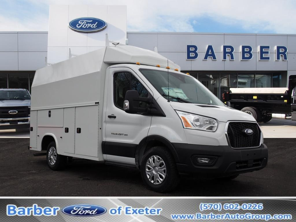 2020 Ford Transit 350 4x2, Knapheide Service Utility Van #10673T - photo 1