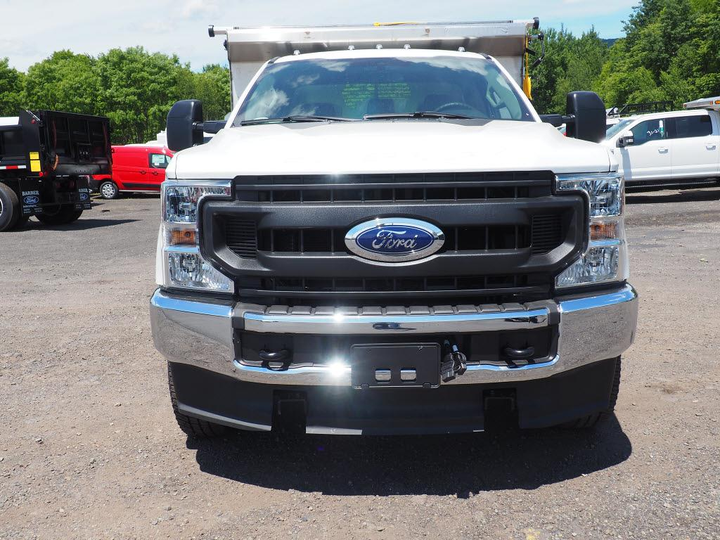 2020 Ford F-350 Regular Cab DRW 4x4, Rugby Eliminator LP Stainless Steel Dump Body #10685T - photo 8