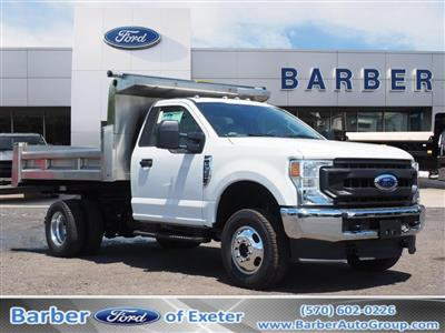 2020 Ford F-350 Regular Cab DRW 4x4, Rugby Eliminator LP Stainless Steel Dump Body #10685T - photo 1