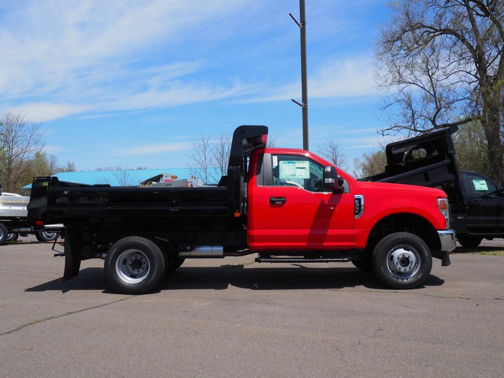 2020 Ford F-350 Regular Cab DRW 4x4, Rugby Eliminator LP Steel Dump Body #10701T - photo 3