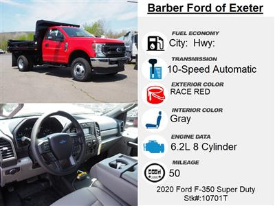 2020 Ford F-350 Regular Cab DRW 4x4, Rugby Eliminator LP Steel Dump Body #10701T - photo 15