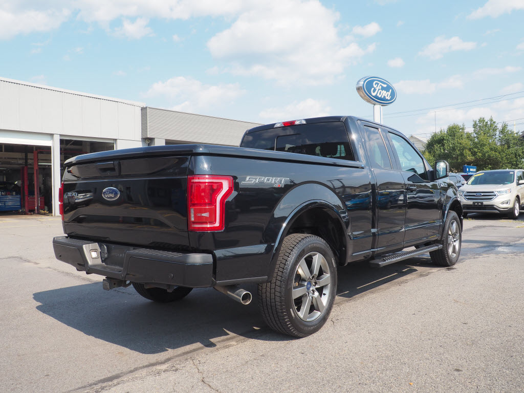 2017 Ford F-150 Super Cab 4x4, Pickup #10715A - photo 2