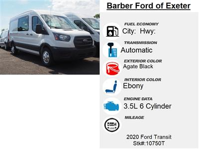 2020 Ford Transit 250 Med Roof AWD, Empty Cargo Van #10750T - photo 6