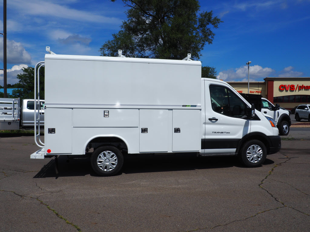 2020 Ford Transit 350 4x2, Reading Aluminum CSV Service Utility Van #10760T - photo 9