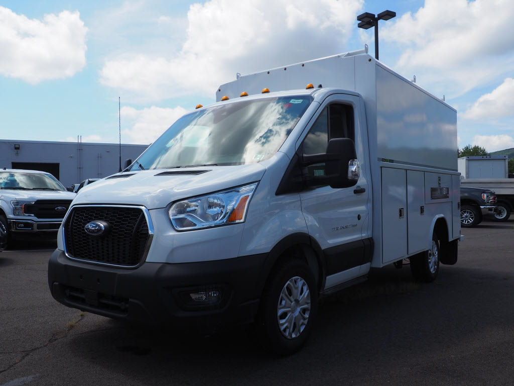 2020 Ford Transit 350 4x2, Reading Aluminum CSV Service Utility Van #10760T - photo 3