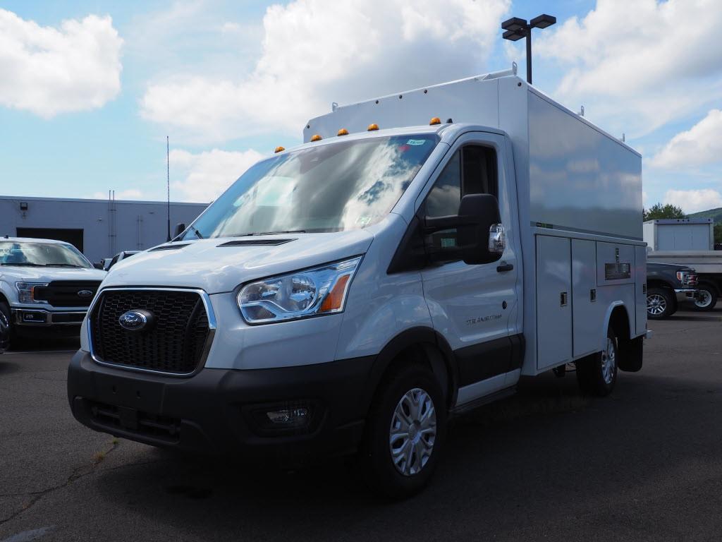 2020 Ford Transit 350 4x2, Reading Aluminum CSV Service Utility Van #10760T - photo 3