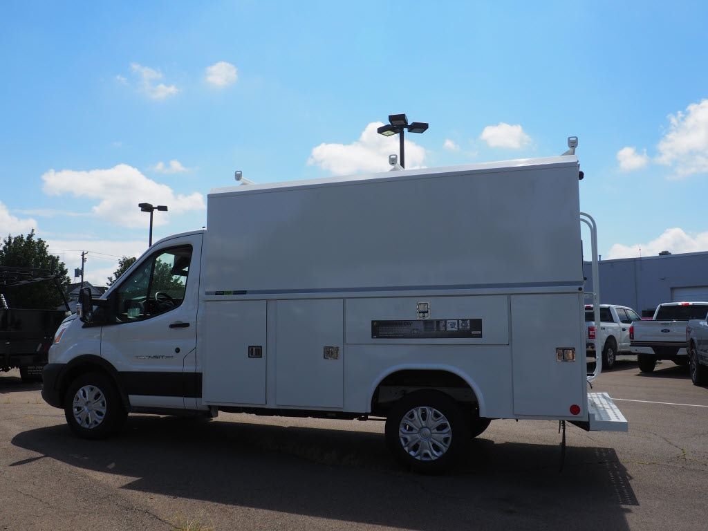 2020 Ford Transit 350 4x2, Reading Aluminum CSV Service Utility Van #10760T - photo 7