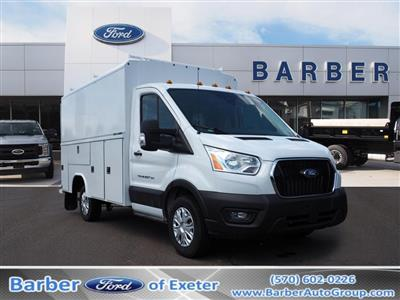 2020 Ford Transit 350 4x2, Reading Aluminum CSV Service Utility Van #10760T - photo 1