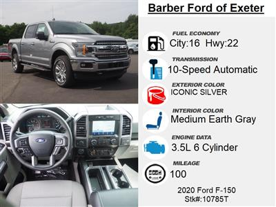2020 Ford F-150 SuperCrew Cab 4x4, Pickup #10785T - photo 4