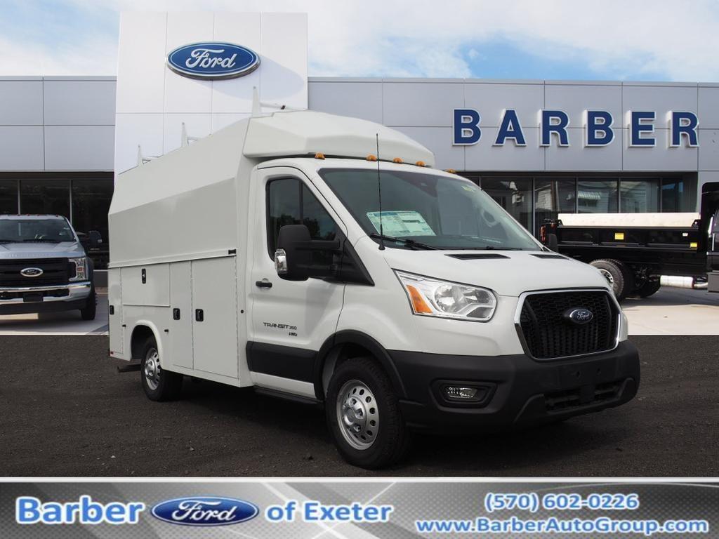 2020 Ford Transit 350 AWD, Knapheide Service Utility Van #10791T - photo 1