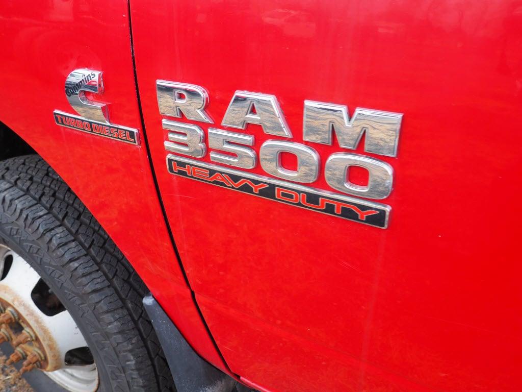 2014 Ram 3500 Regular Cab DRW 4x4, Platform Body #9417B - photo 11
