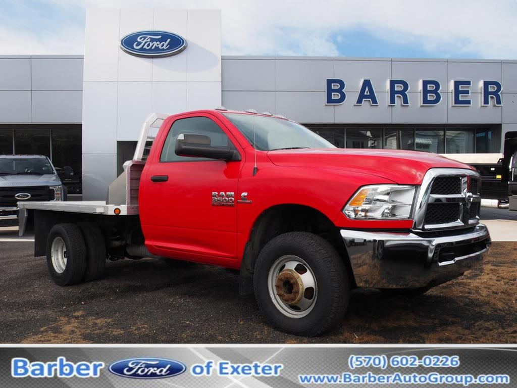 2014 Ram 3500 Regular Cab DRW 4x4, Platform Body #9417B - photo 1