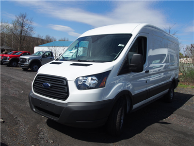 2018 Transit 250 Med Roof 4x2,  Empty Cargo Van #9567T - photo 4