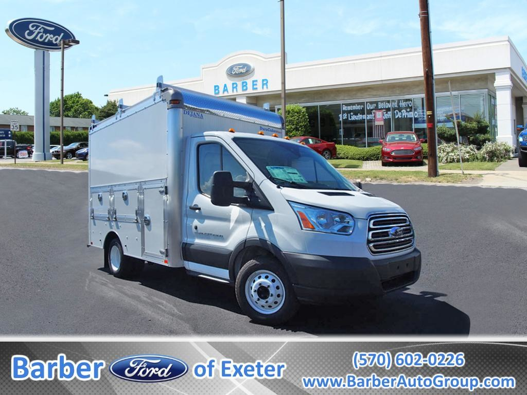 2018 Transit 350 HD DRW 4x2,  Service Utility Van #9723T - photo 1