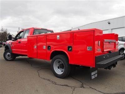 2019 F-550 Super Cab DRW 4x4,  Reading Classic II Aluminum  Service Body #9754T - photo 3