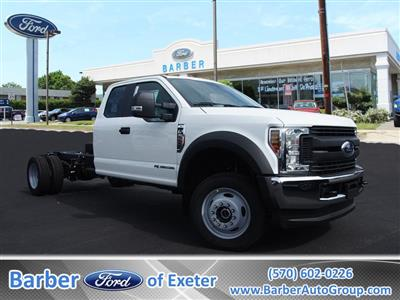 2019 F-550 Super Cab DRW 4x4,  Cab Chassis #9760T - photo 1