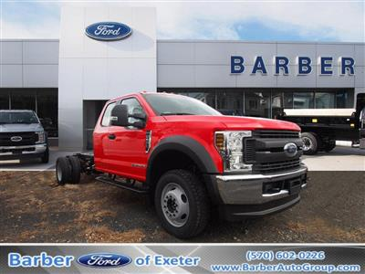 2019 F-550 Super Cab DRW 4x4,  Cab Chassis #9841T - photo 1