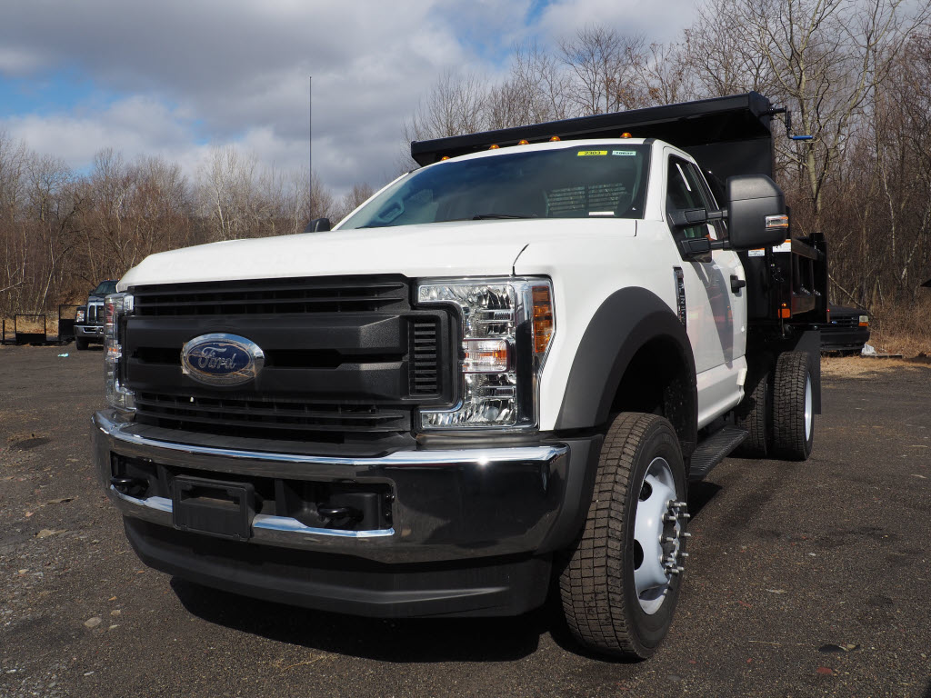 2019 F-550 Regular Cab DRW 4x4, Rugby Eliminator LP Steel Dump Body #10632T - photo 5