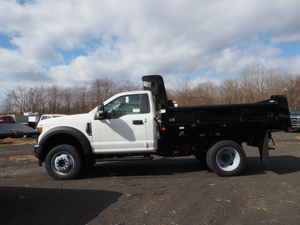 2019 F-550 Regular Cab DRW 4x4, Rugby Eliminator LP Steel Dump Body #10632T - photo 3