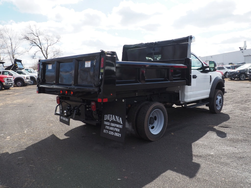 2019 F-550 Regular Cab DRW 4x4, Rugby Eliminator LP Steel Dump Body #10632T - photo 2