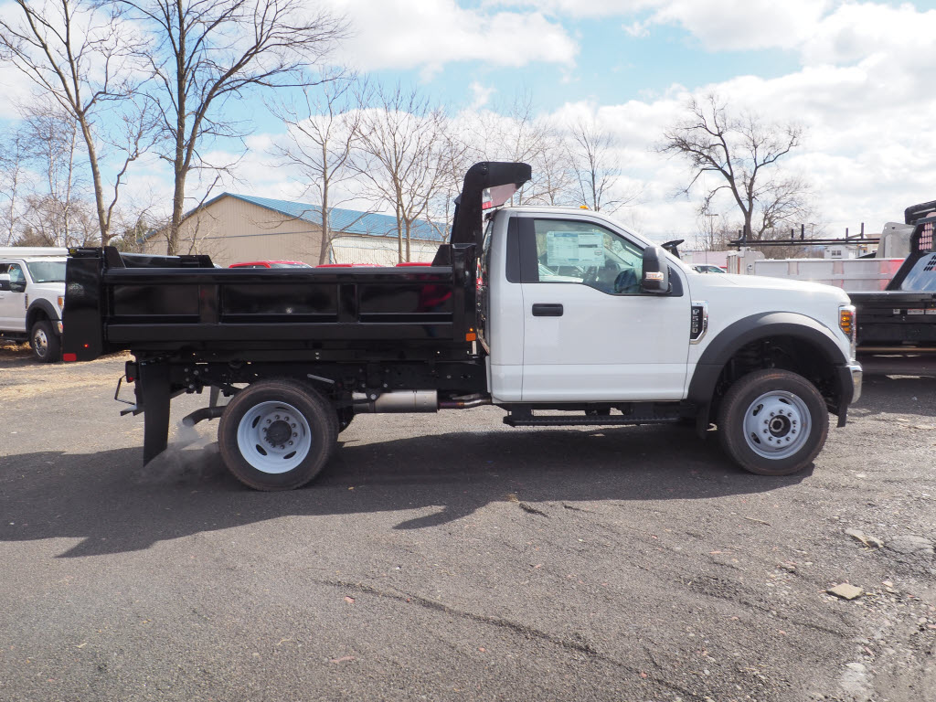 2019 F-550 Regular Cab DRW 4x4, Rugby Eliminator LP Steel Dump Body #10632T - photo 8
