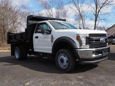 2019 F-550 Regular Cab DRW 4x4, Rugby Eliminator LP Steel Dump Body #10632T - photo 17
