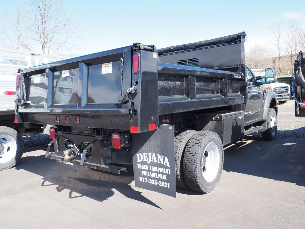 2020 F-550 Regular Cab DRW 4x4, Rugby Eliminator LP Steel Dump Body #10620T - photo 2
