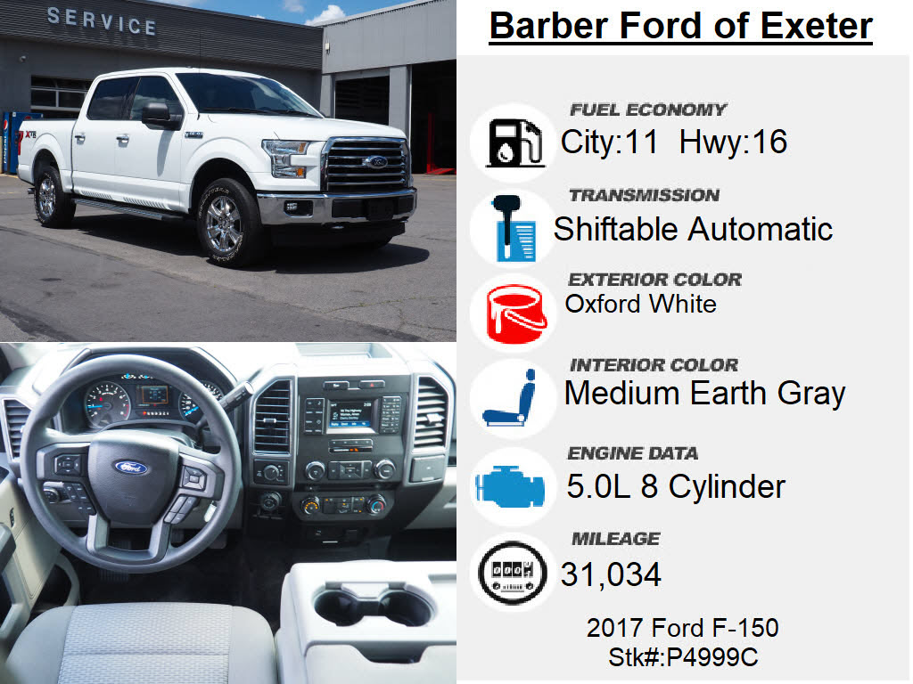 2017 Ford F-150 SuperCrew Cab 4x4, Pickup #P4999C - photo 29