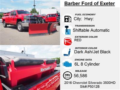 2016 Chevrolet Silverado 3500 Double Cab 4x4, Pickup #P5012B - photo 4