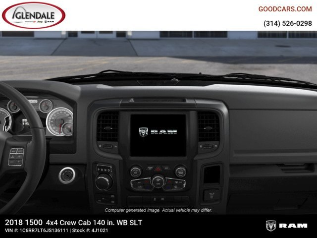 2018 Ram 1500 Crew Cab 4x4,  Pickup #4J1021 - photo 13