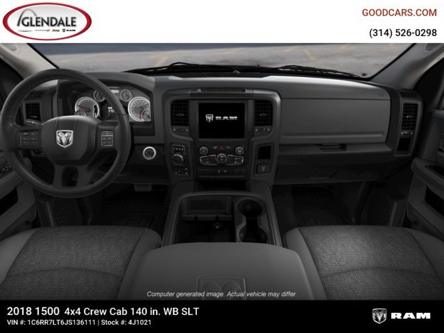 2018 Ram 1500 Crew Cab 4x4,  Pickup #4J1021 - photo 14