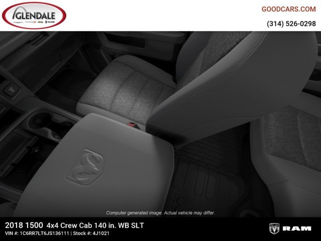 2018 Ram 1500 Crew Cab 4x4,  Pickup #4J1021 - photo 16