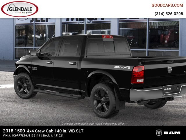 2018 Ram 1500 Crew Cab 4x4,  Pickup #4J1021 - photo 2