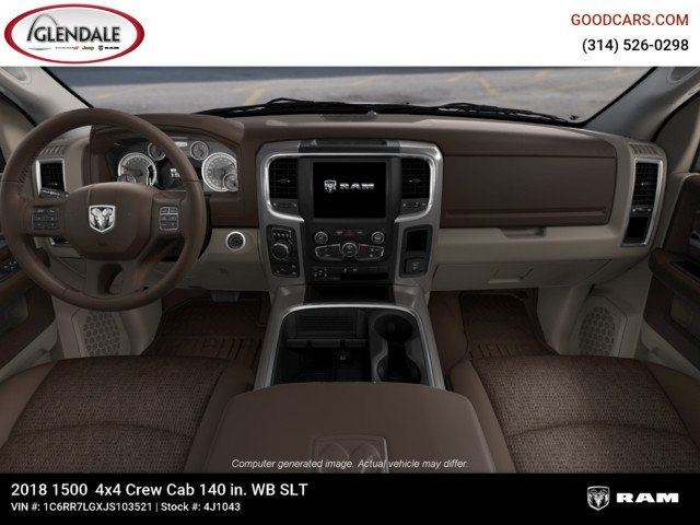 2018 Ram 1500 Crew Cab 4x4,  Pickup #4J1043 - photo 14