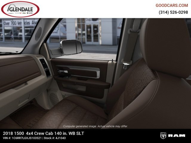 2018 Ram 1500 Crew Cab 4x4,  Pickup #4J1043 - photo 17