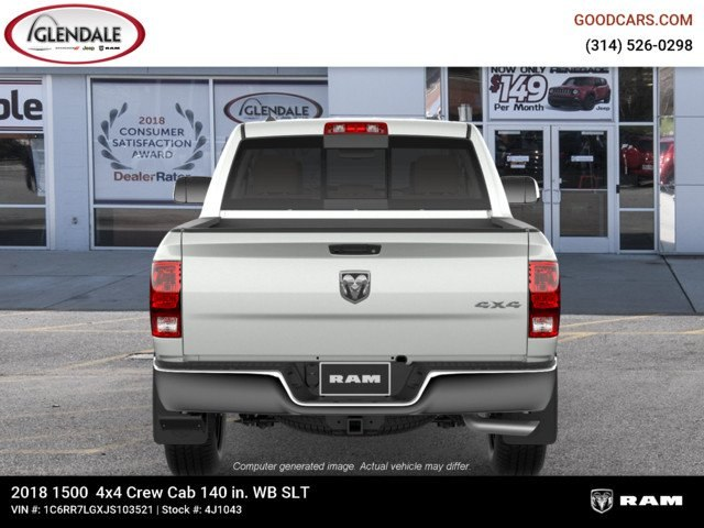2018 Ram 1500 Crew Cab 4x4,  Pickup #4J1043 - photo 7