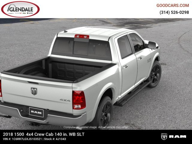 2018 Ram 1500 Crew Cab 4x4,  Pickup #4J1043 - photo 8