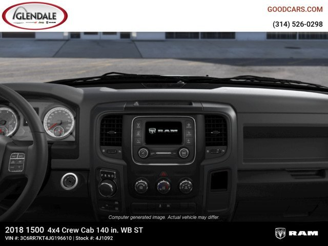 2018 Ram 1500 Crew Cab 4x4,  Pickup #4J1092 - photo 13