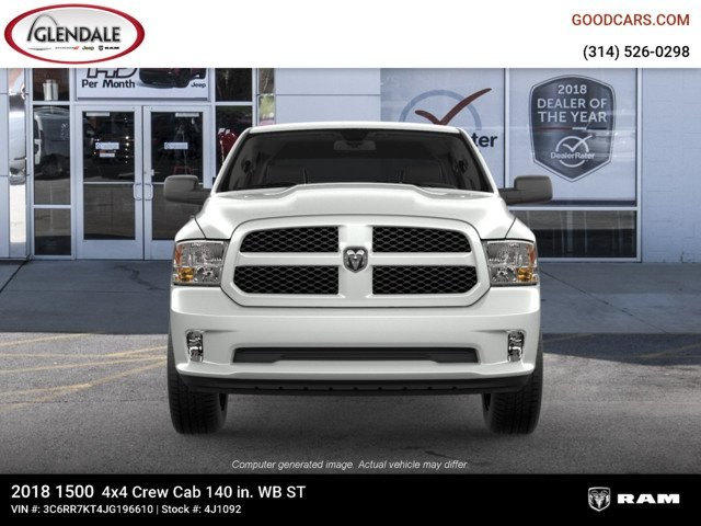 2018 Ram 1500 Crew Cab 4x4,  Pickup #4J1092 - photo 3